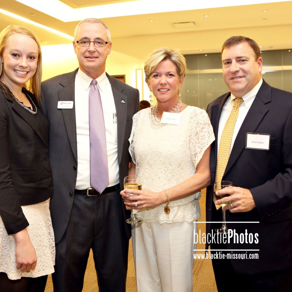 Alex Hillyer, President/ceo Vince Hillyer, Molly and Rick James