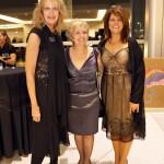 Carmen Schluze, Linda Jacquin, Dr. Marjorie Wolter