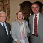 Tom Gunn, Nancy and Leo Haas