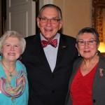 Monica and Dr. Dennis Golden, Bev Wagner