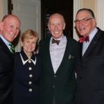 Julian and Eileen Carr, Dan Ferry, Dr. Dennis Golden