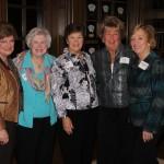 June Gallager, Monica Golden, Joan Lipic, Pat Dino, Eleanor Ferry