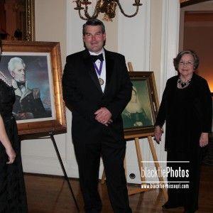 G.P. Dorris, IV with the guests of honor/speakers, Nancy Holman, Pat Higdon