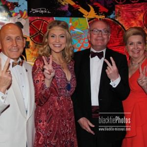 Event co-chairs Allen Allred, Anne Allred, Dr. David  and Babette Meiners