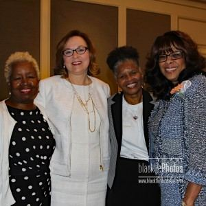 Shirley Agnew, Rev. Terri Swan, Jackie Williams, Thelma Steward