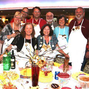 Janet and Mike Grant, Gary Liming, Phillip Leharke, Pam Exler, Cindy Tilling, Bruce Darrugh: The Flying Aces